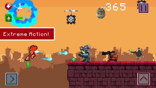 Robot Bullets Blazing - All Legend Commando
