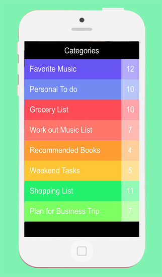 Flute: Color To-Do Tasks and Lists
