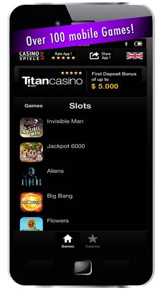 CasinoApp - Free Casino Games 2015 - Play Slots Blackjack Poker Roulette Baccarat and Bingo