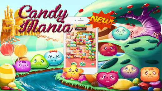 Candy Fruit Jelly Blast - FREE Pop and Match 3 Puzzle Mania to Win Big