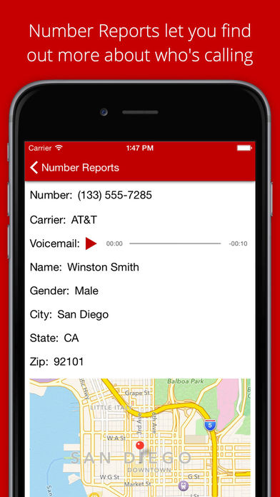 Callmask - Free Private Number for Texting and Calls screenshot