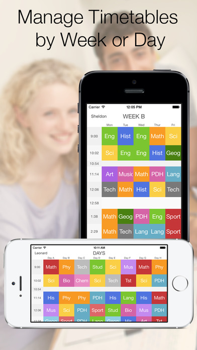 Timetable Pro+ Screenshot