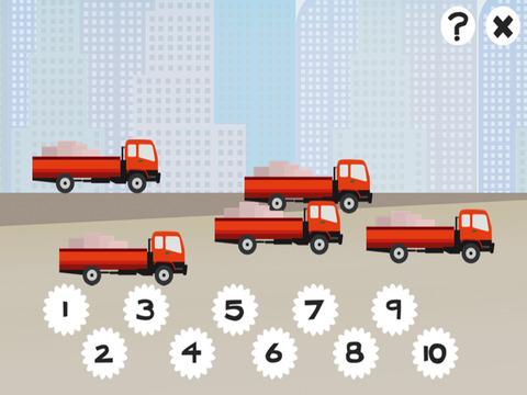 Азбука Игра Научиться Считать Число Для Детей С Строительство И Строители