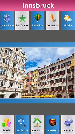 Innsbruck Offline Map Travel Explorer