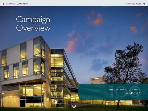 Geisinger The Centennial Campaign: Redefining Boundaries