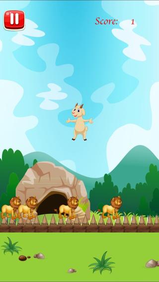 Goat Jumping Simulator Pro - Animal Dodging Challenge