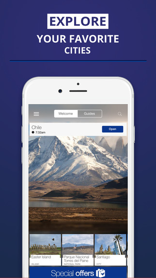 Chile - your travel guide with offline maps from tripwolf guide for sights tours and hotels in Santi