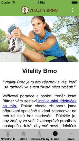 Vitality Brno