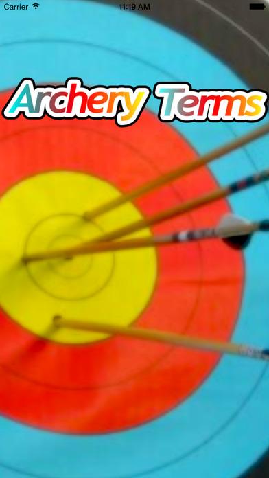 Archery Terms iPhone Screenshot 1