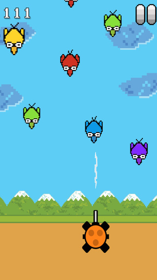 Birds Diving - Zap them Pro