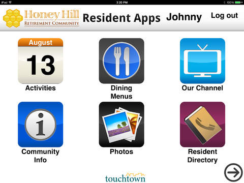 Touchtown Resident Apps 1.0