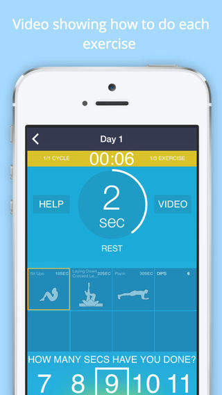 Ab Challenge Advanced FREE - Train Your Abs in 30 Days