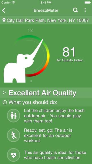 BreezoMeter - Air Quality