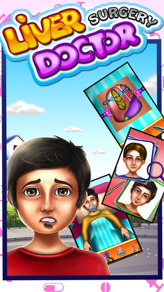 Liver Surgery Doctor - Little operation surgeon and doctor games for kids