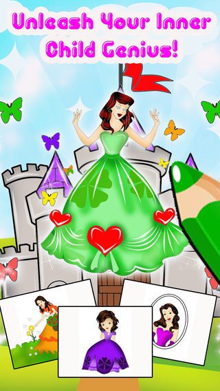 Princess Colorbook Free - Cinderella Other Princesses Coloring Pages For Little Big Girls