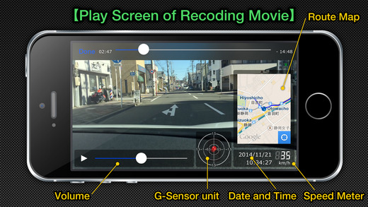 MultiEDR - multi functional vehicle camera Screenshots