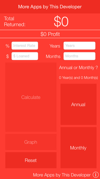 Compound Interest Calculator with Graph