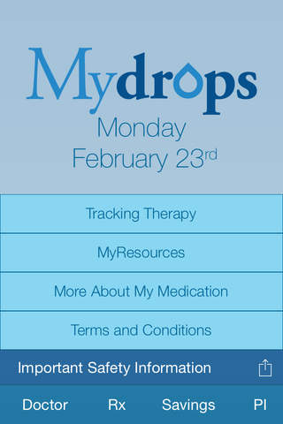 MyDrops screenshot 1