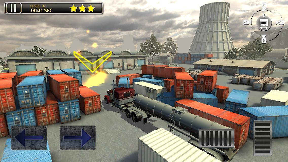 Arcade Driving School >> 3D Semi Truck Parking - Real Trucker Driving School ...