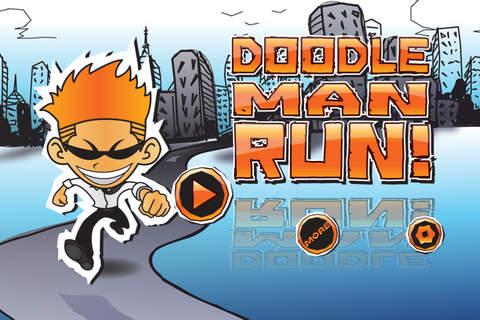 Doodle Man Run Pro screenshot 3