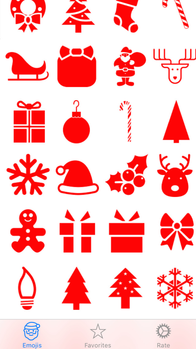 app shopper christmas emoji emoticons utilities
