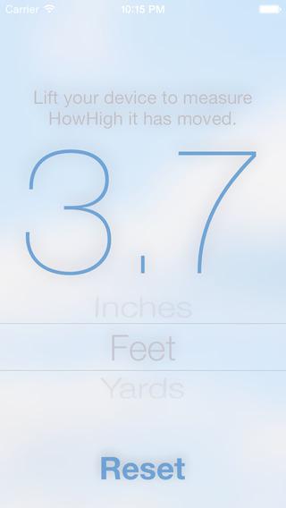 HowHigh - Barometric pressure measurement tool