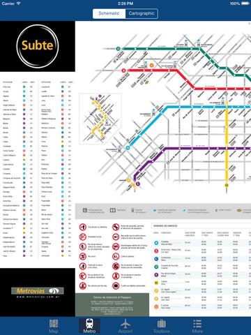 Buenos Aires Offline Map - City Metro Airport Screenshots