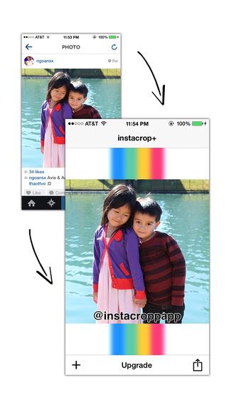 Instacrop+ Save Crop and Steal Instagram Screen Shots