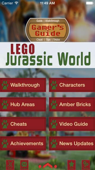 Gamer's Guide for Lego Jurassic World