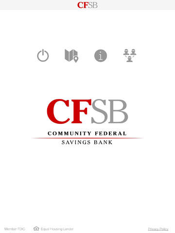 Community Federal Savings Bank for Business iPad