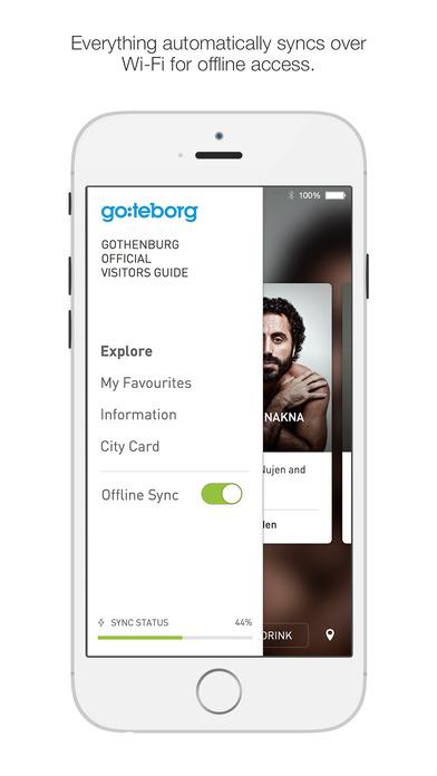 Cityguide Gothenburg iPhone Screenshot 4