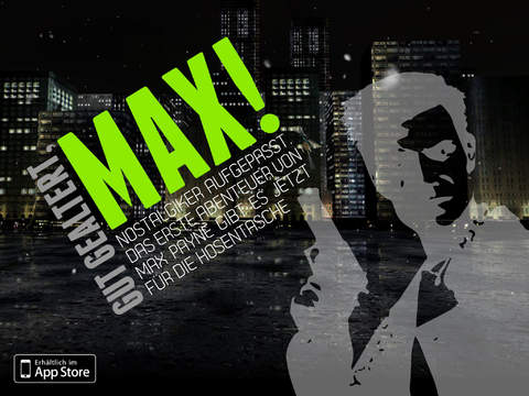 """CRATE 1: """"Max Payne Musik-Spiele""""-Edition"""