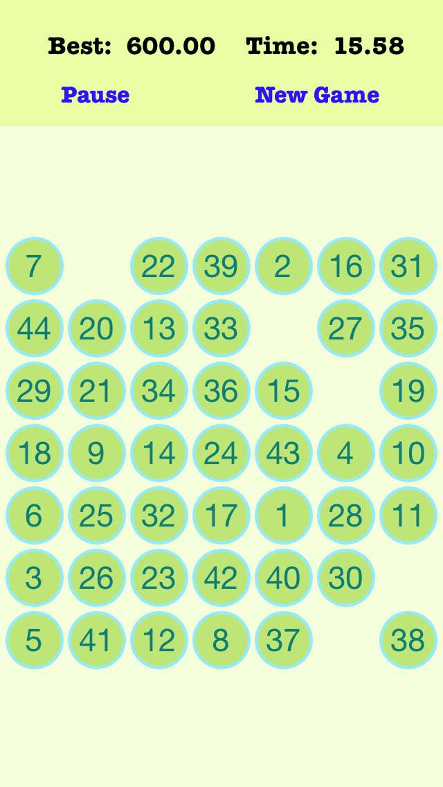 Screenshot 2 49 Numbers Reverse Pro