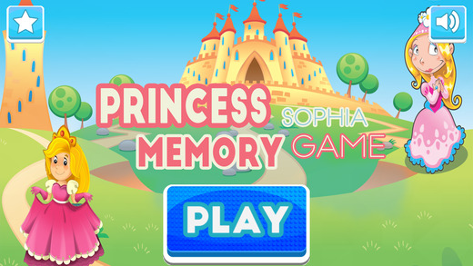Princess Sophia Memory Matching Game