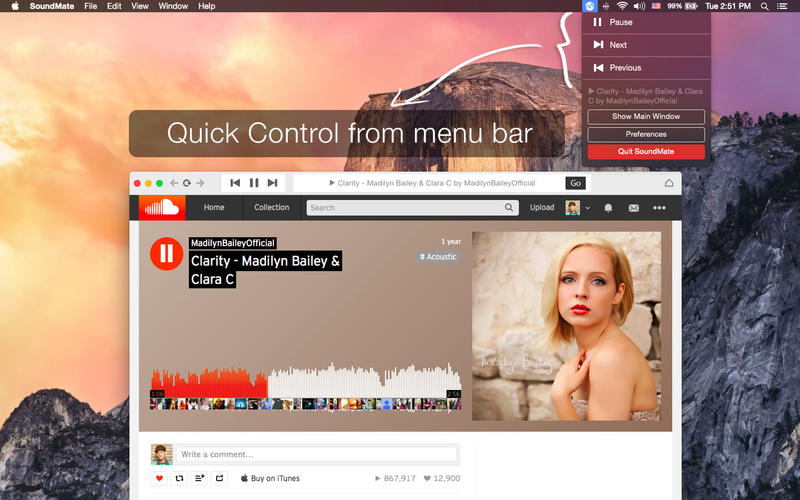 SoundMate Screenshot - 2