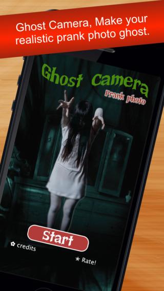 Ghost Camera prank photo