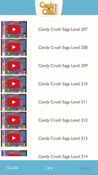 Tips Video Guide for Candy Crush Saga Game – Full walkthrough strategy