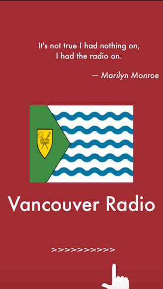 Vancouver Radio Stations - Free