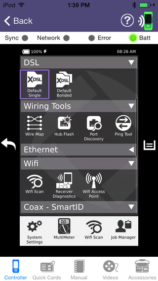 OneExpert DSL Mobile Application