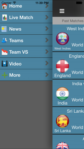 Live Cricket Matches - Full Score Card of Odi T20 Test Match Free