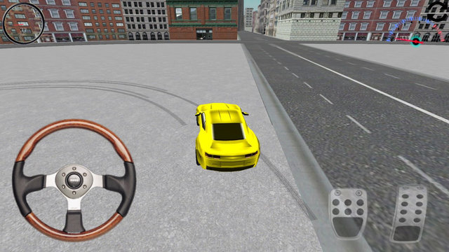 Yellow Car Simulator Pro