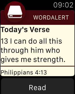 Word Alert: Daily Bible Verses