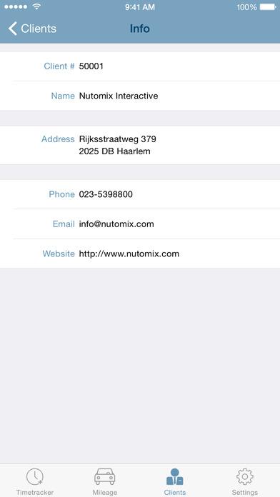 nuTijd Mobile iPhone Screenshot 5