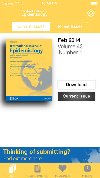International Journal of Epidemiology