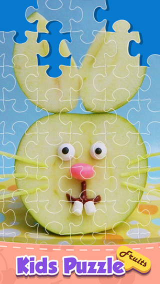 Toddlers Learning Game: Incredible Fruits Jigsaw Puzzle Kids Game