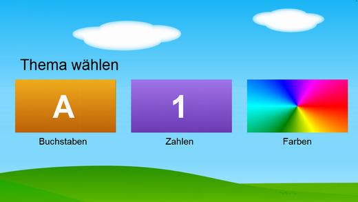 Deutsch Buchstaben Zahlen Farben Kostenlos