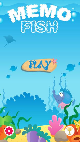 Memo Fish - Match Pairs Game