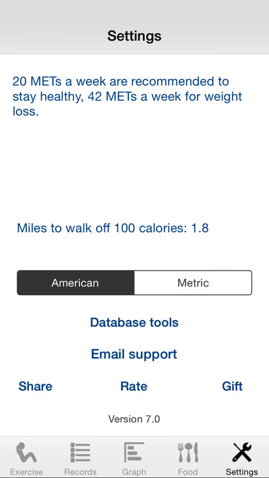 Exercise Calculator iPhone Screenshot 5
