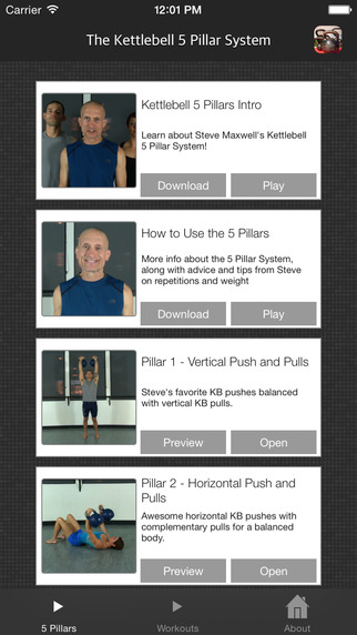 Steve Maxwell's Kettlebell Five Pillar System
