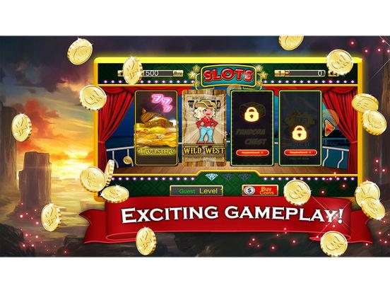 Slot machine treasure hunt